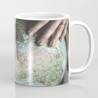 spain Mugs featuring Spain by Haley Marshall Photography