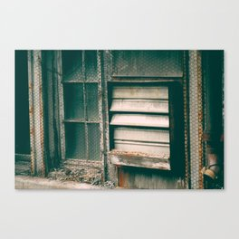 CRUMBLE//002 Canvas Print