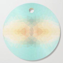 Mozaic design in soft colors Cutting Board
