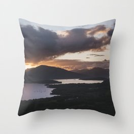 Loch Lomond - Landscape and Nature Photography Throw Pillow
