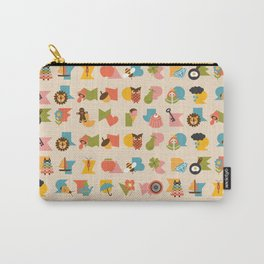 ABCs Ice Cream Carry-All Pouch