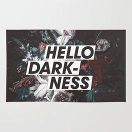 Hello Darkness Rug