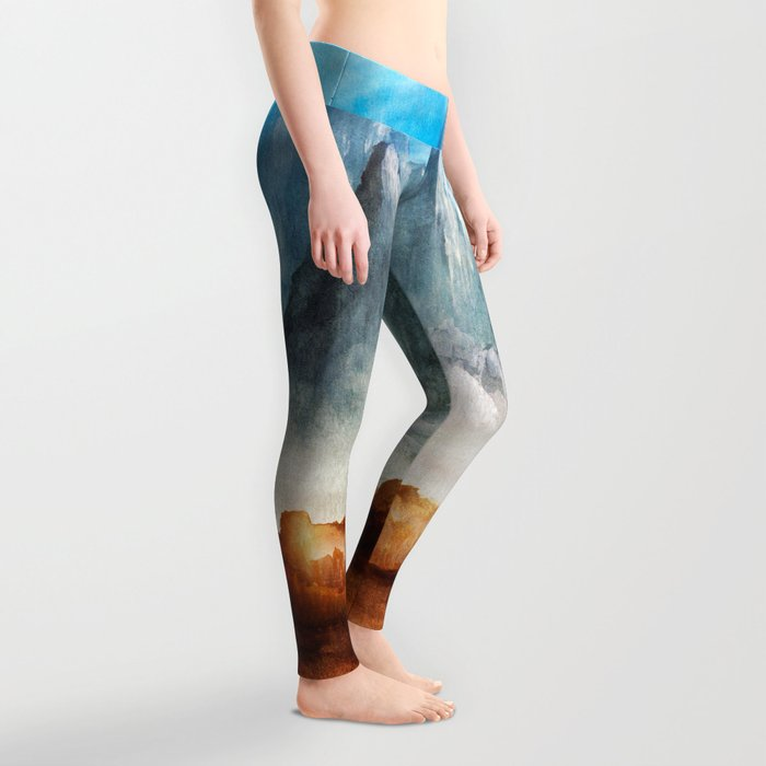 Over The Mountains Leggings