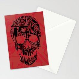 Null Skull Stationery Cards