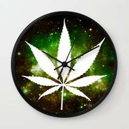 Weed : High Times Galaxy Wall Clock
