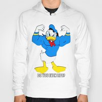 elmo Hoodies featuring Donald Duck Lifts by VeilSide07
