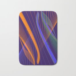 curved lines in architecure Bath Mat