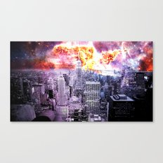 New York City : Parallel Dimension  Canvas Print