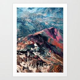 mountains 2 Art Print