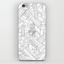 The Lego Movie —Colouring Book Version iPhone Skin