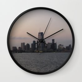 View of Colgate Center from New York Harbor Wall Clock