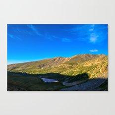 Kite Lake Sunrise Canvas Print