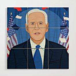 Joe Biden Wood Wall Art