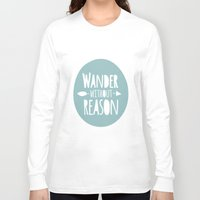 wander Long Sleeve T-shirts featuring Wander by Zen and Chic