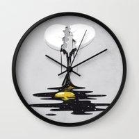 sagan Wall Clocks featuring Another Cosmos by Robert Richter – Artist & Illustrator