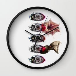 Vampyro blinde Wall Clock