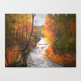 Wintergreen Gorge Canvas Print