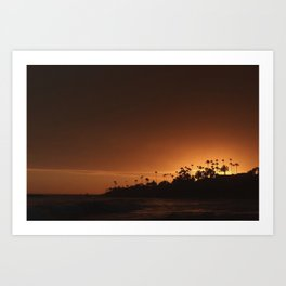 Beach of Life Art Print