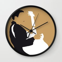 No070 MY TBone Walker Minimal Music poster Wall Clock