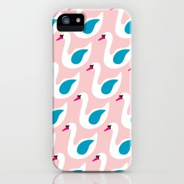 The Swan Song II iPhone Case