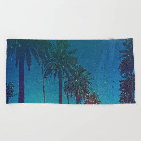 Los Angeles. Beach Towel