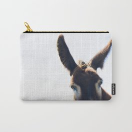 Two Ears One Mouth Carry-All Pouch