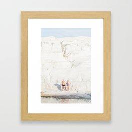 Milos Couple Framed Art Print