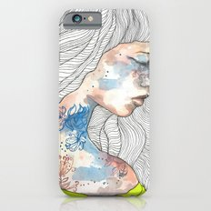 Hideout, watercolor illustration Slim Case iPhone 6s
