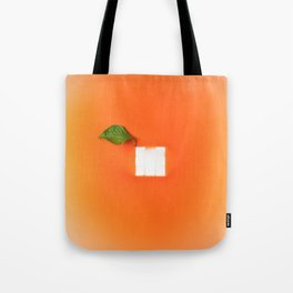 Orange out of the box Tote Bag