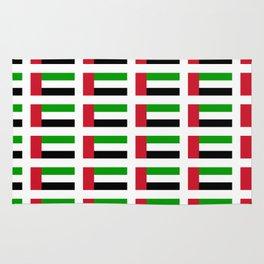 flag of UAE -united arab Emirates,Abu dhabi, dubai,emirati,الإمارات Rug