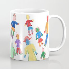 Multicolor People Multiples Coffee Mug