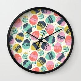 Easer Eggs Wall Clock