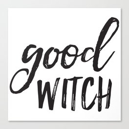 Good Witch Canvas Print
