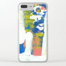 Racing Thoughts Clear iPhone Case