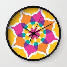 Majestic Swirl Wall Clock