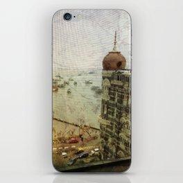 Taj Mahal Palace hotel and the Gateway of India monument, Mumbai, India iPhone Skin