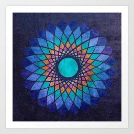 Chromatic Art Print