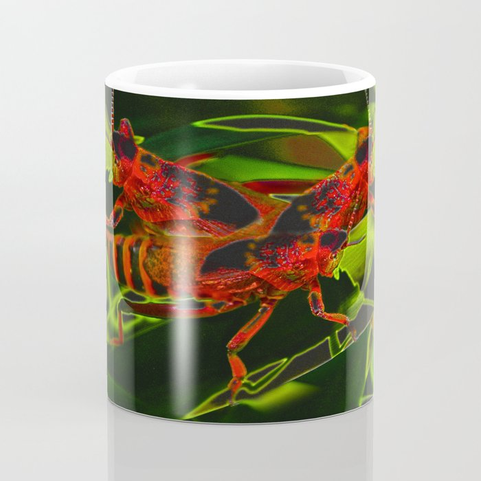 Red Hopper Coffee Mug