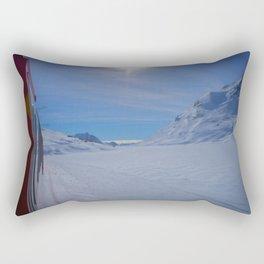 Swiss Alps. Rectangular Pillow