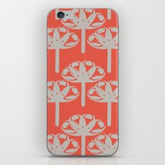 Abstract Gerbra iPhone & iPod Skin