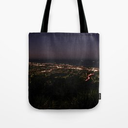 Wollongong from Mount Keira Sumit Tote Bag