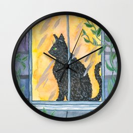Cheddar Wall Clock