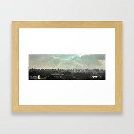 São Paulo skyline Framed Art Print