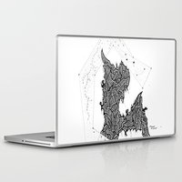 constellations Laptop & iPad Skins featuring Constellations by Mason Misener