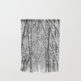 Woodland snow Wall Hanging