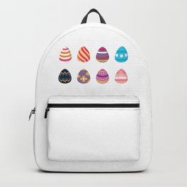 Colorful Easter Eggs Backpack