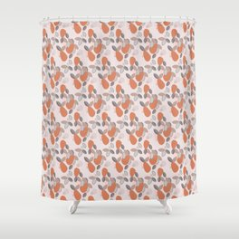 Mango in the Fall Shower Curtain