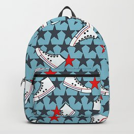 sneakers pattern Backpack