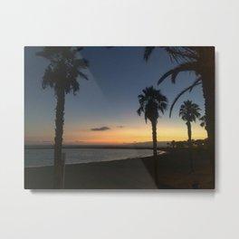 Sunset on Tenerife Metal Print