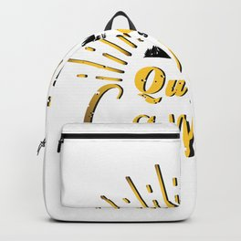 Queen Of The Camper Camping Funny Gifts Backpack